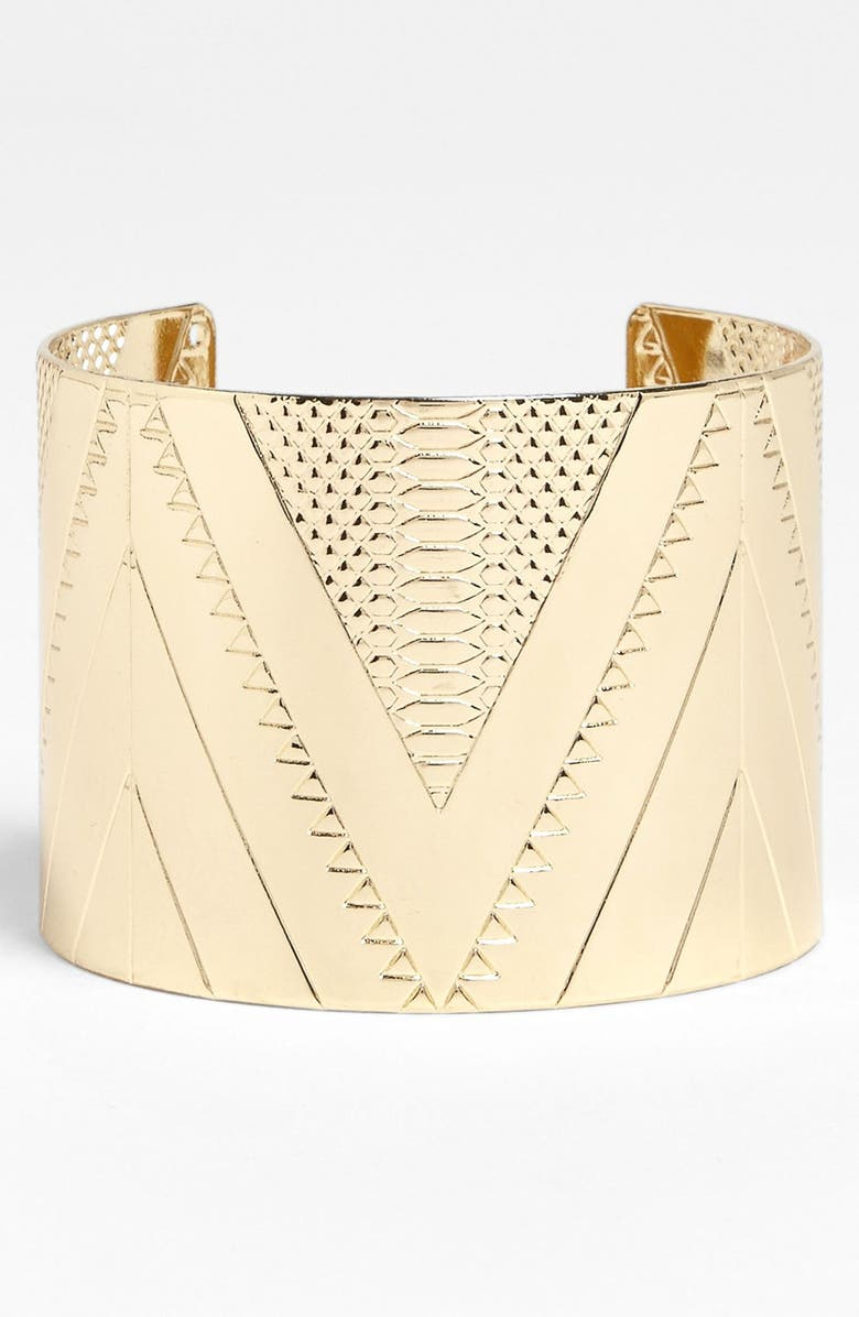 CAROLE Etched Cuff, Main, color, 711