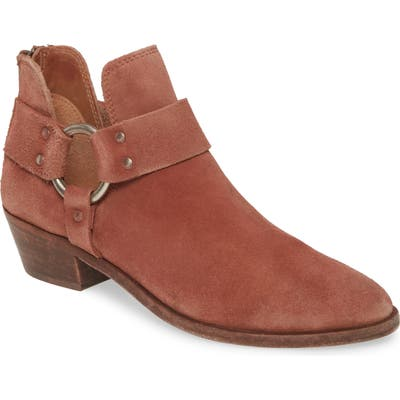 Frye Ray Low Harness Bootie, Red