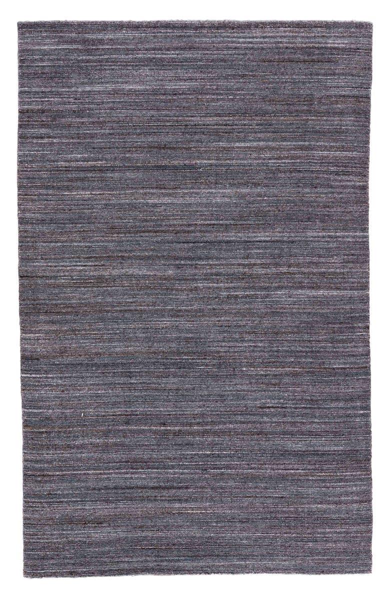 JAIPUR Norman Wool Area Rug, Main, color, DARK BROWN