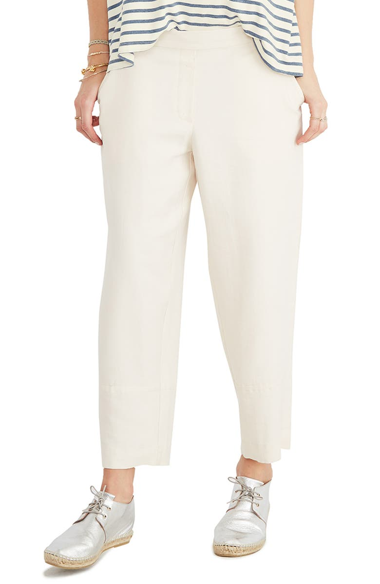 HATCH Rory Pants, Main, color, IVORY