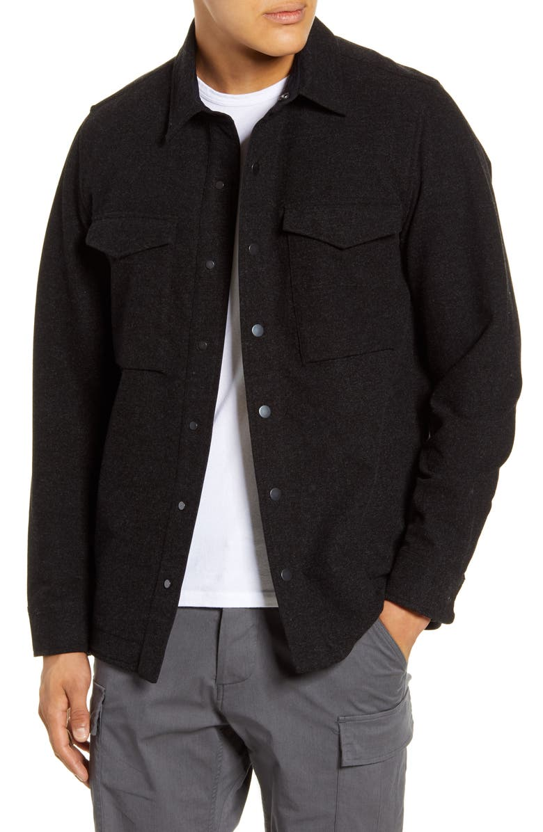 WINGS + HORNS Brushed Cotton Jacket, Main, color, 014