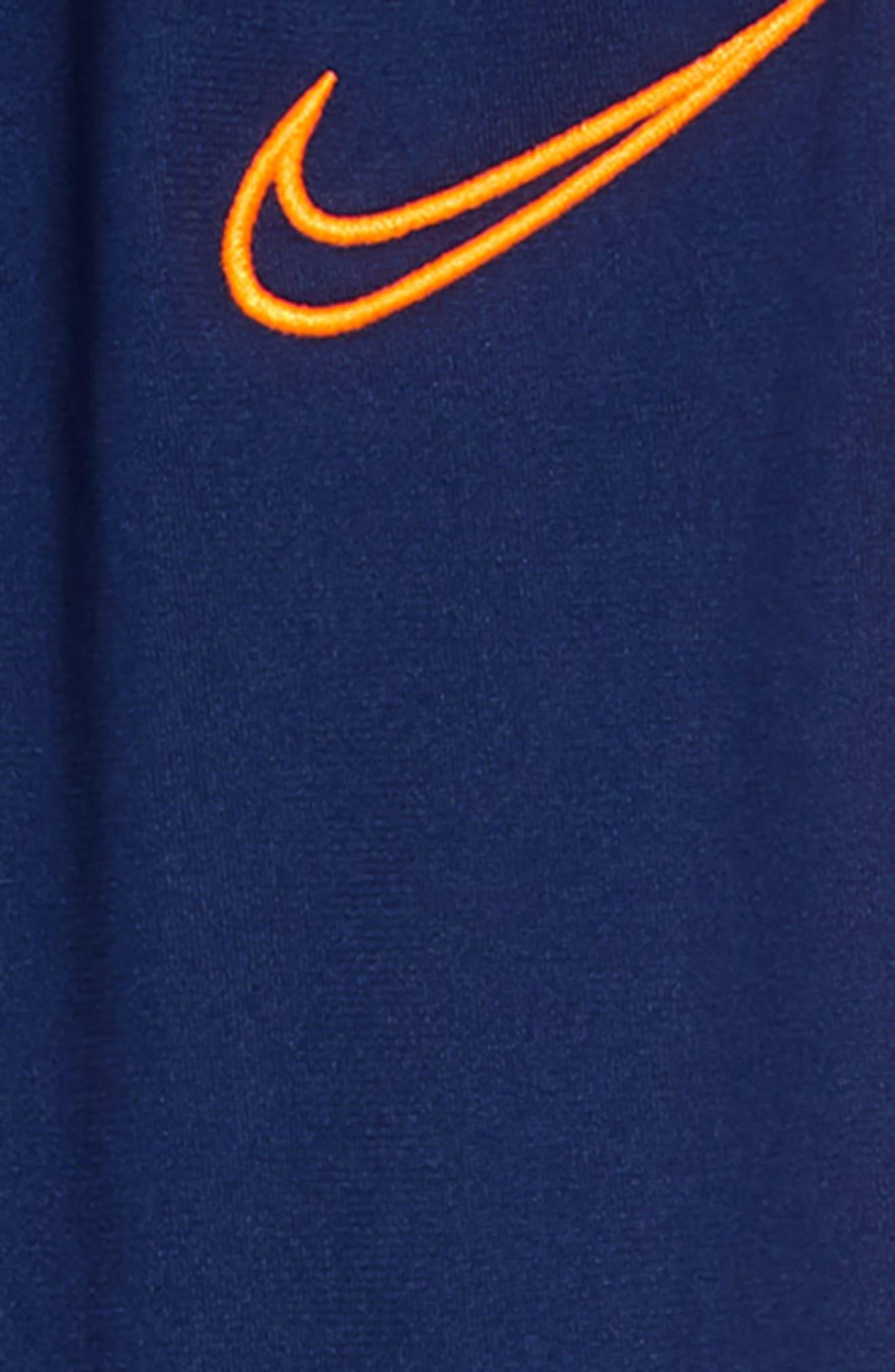 ,                             Academy Dri-FIT Sweatpants,                             Alternate thumbnail 2, color,                             BLUE VOID / TOTAL ORANGE