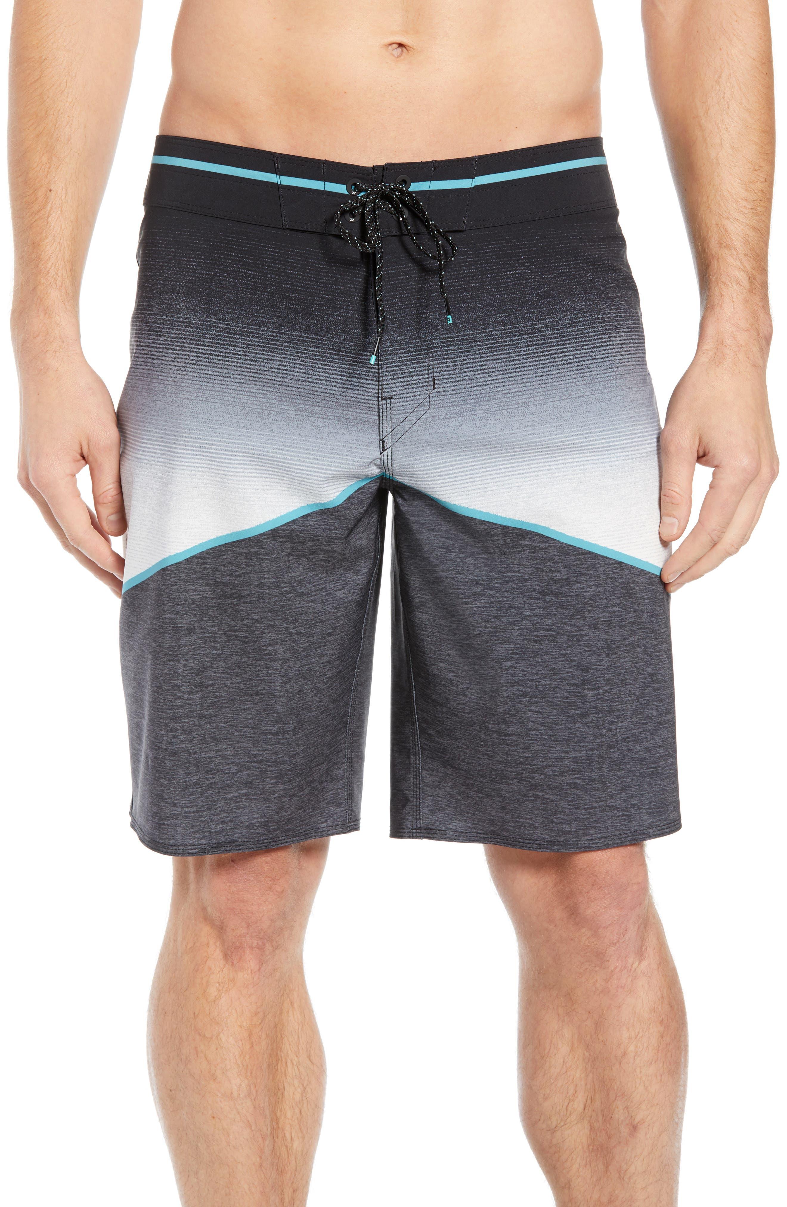 Billabong North Point Pro Board Shorts, Black