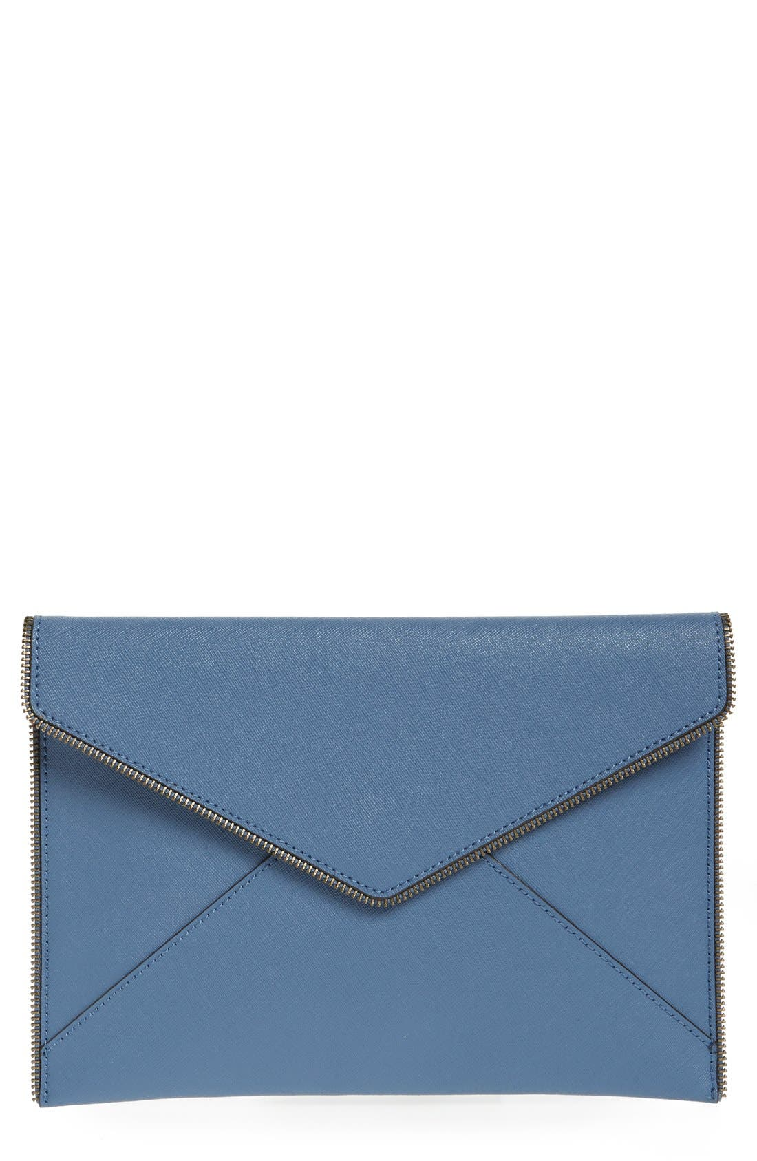 ,                             Leo Envelope Clutch,                             Main thumbnail 192, color,                             405