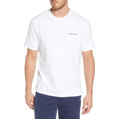 Tommy Bahama Pitcher Perfect Graphic T-Shirt, White