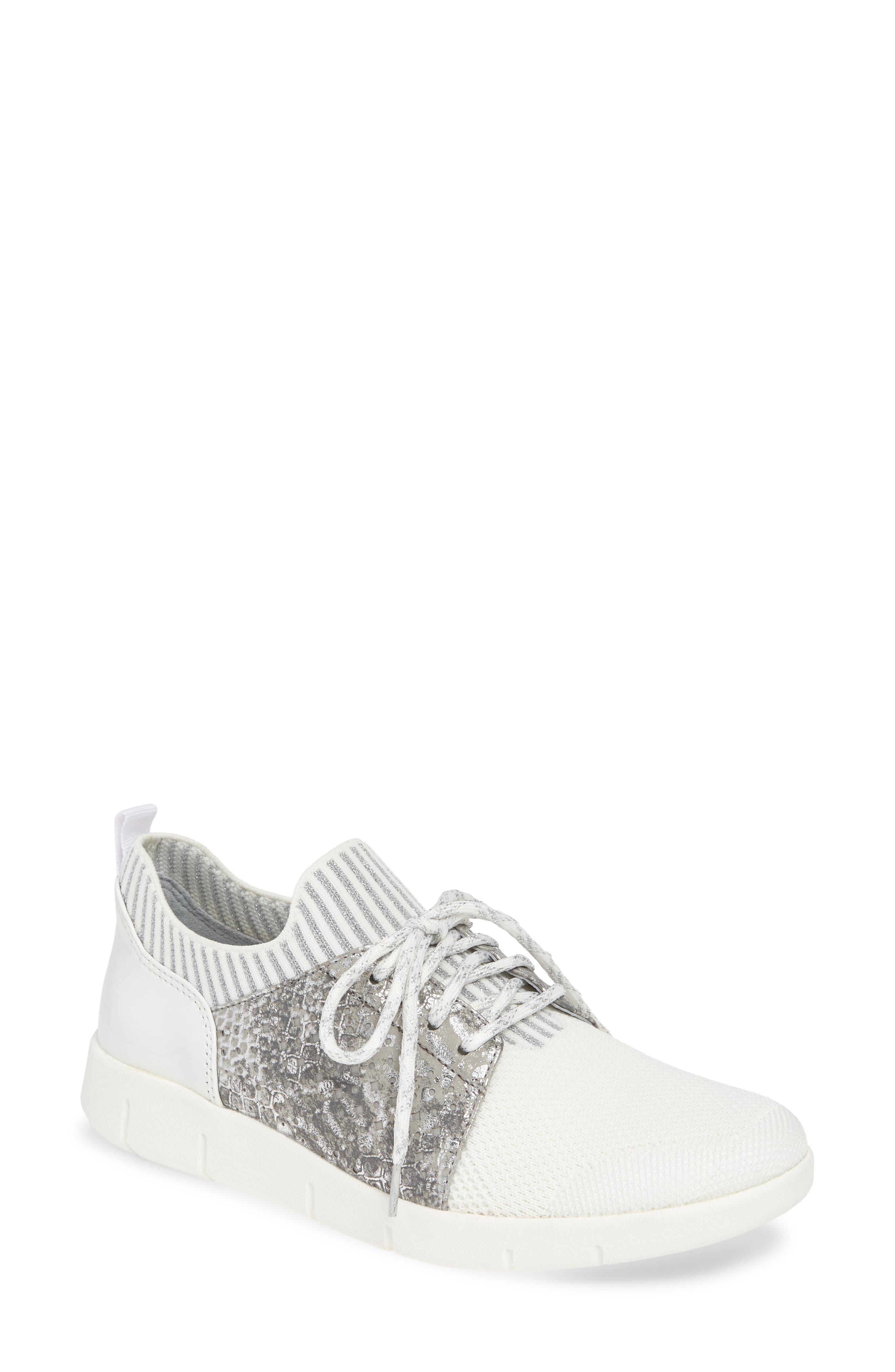 Johnston & Murphy Tamara Sneaker, White