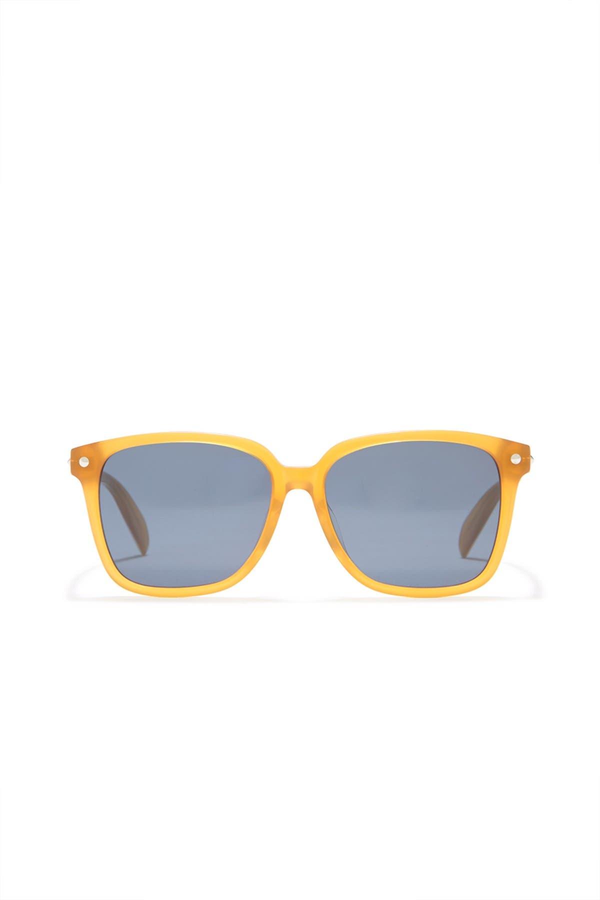 Image of Alexander McQueen 54mm Square Sunglasses
