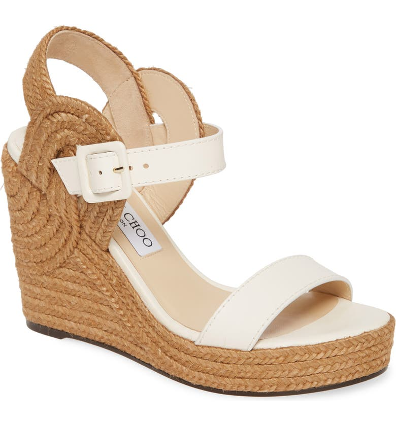 JIMMY CHOO Delphi Sandal, Main, color, LATTE