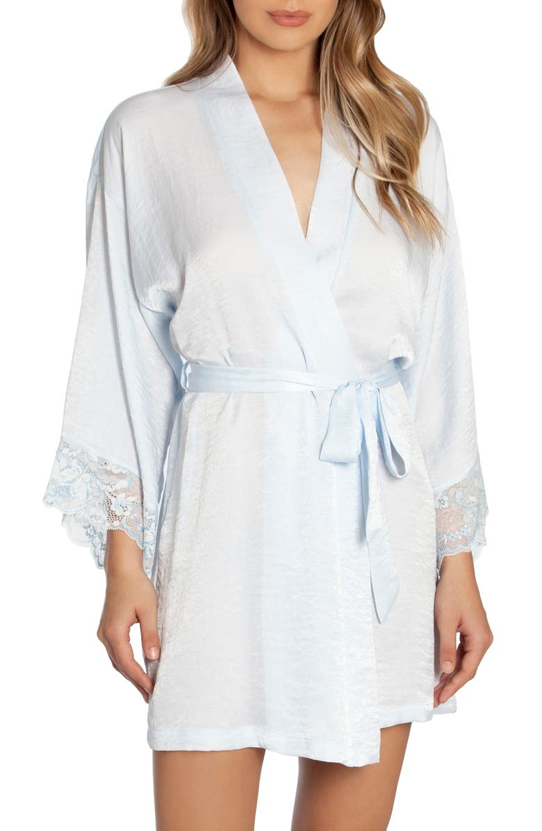 IN BLOOM BY JONQUIL When I Fall In Love Robe, Main, color, PALE BLUE