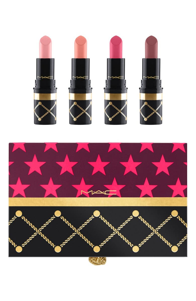 MAC COSMETICS MAC Nutcracker Sweet Nude Mini Lipstick Kit, Main, color, 250