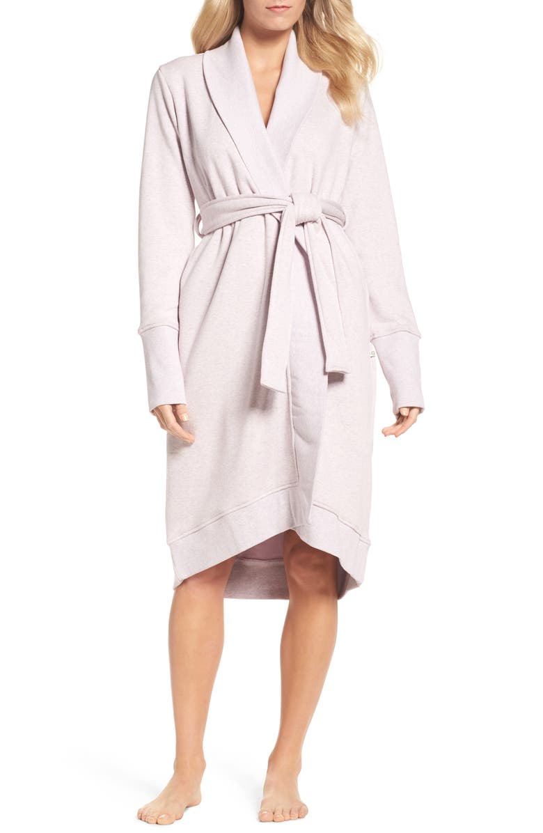 UGG<SUP>®</SUP> 'Karoline' Fleece Robe, Main, color, 650