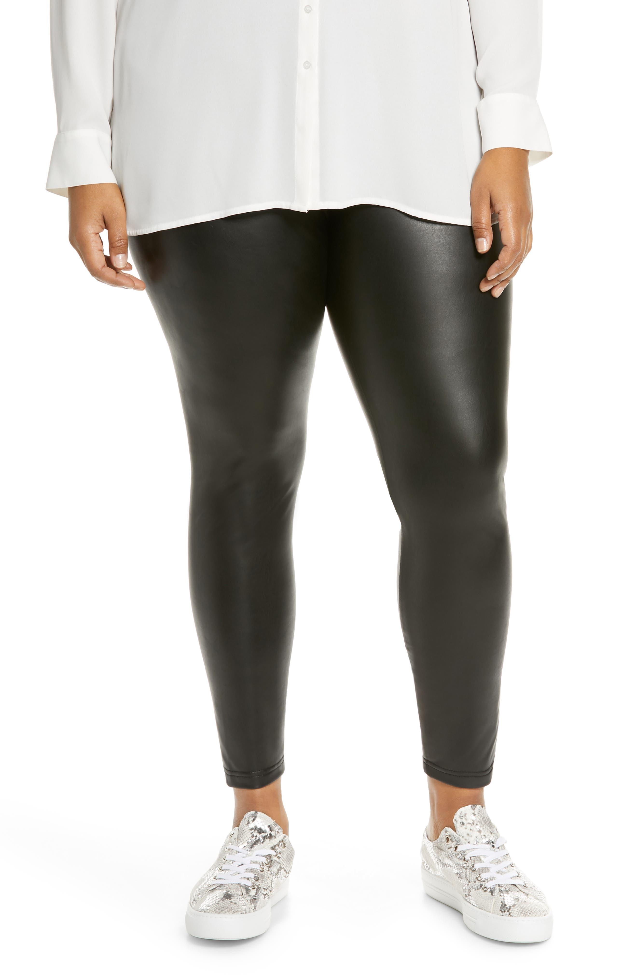 BP. Faux Leather Leggings (Plus Size)   Nordstrom