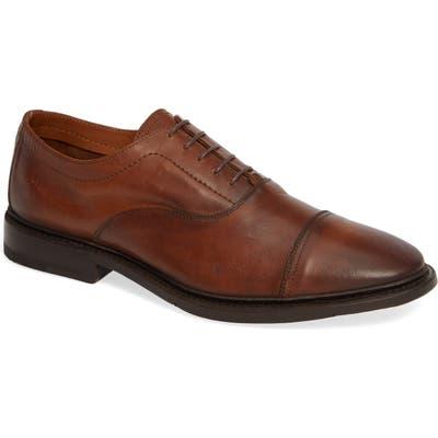 Frye Paul Bal Cap Toe Oxford- Brown