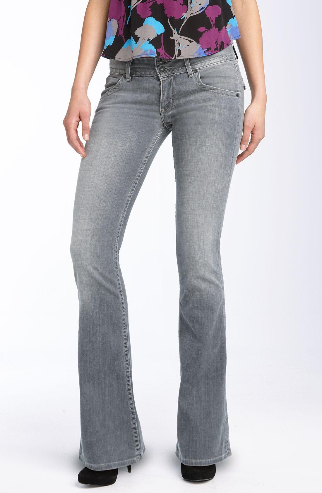 ,                             Signature Flap Pocket Bootcut Jeans,                             Main thumbnail 18, color,                             034
