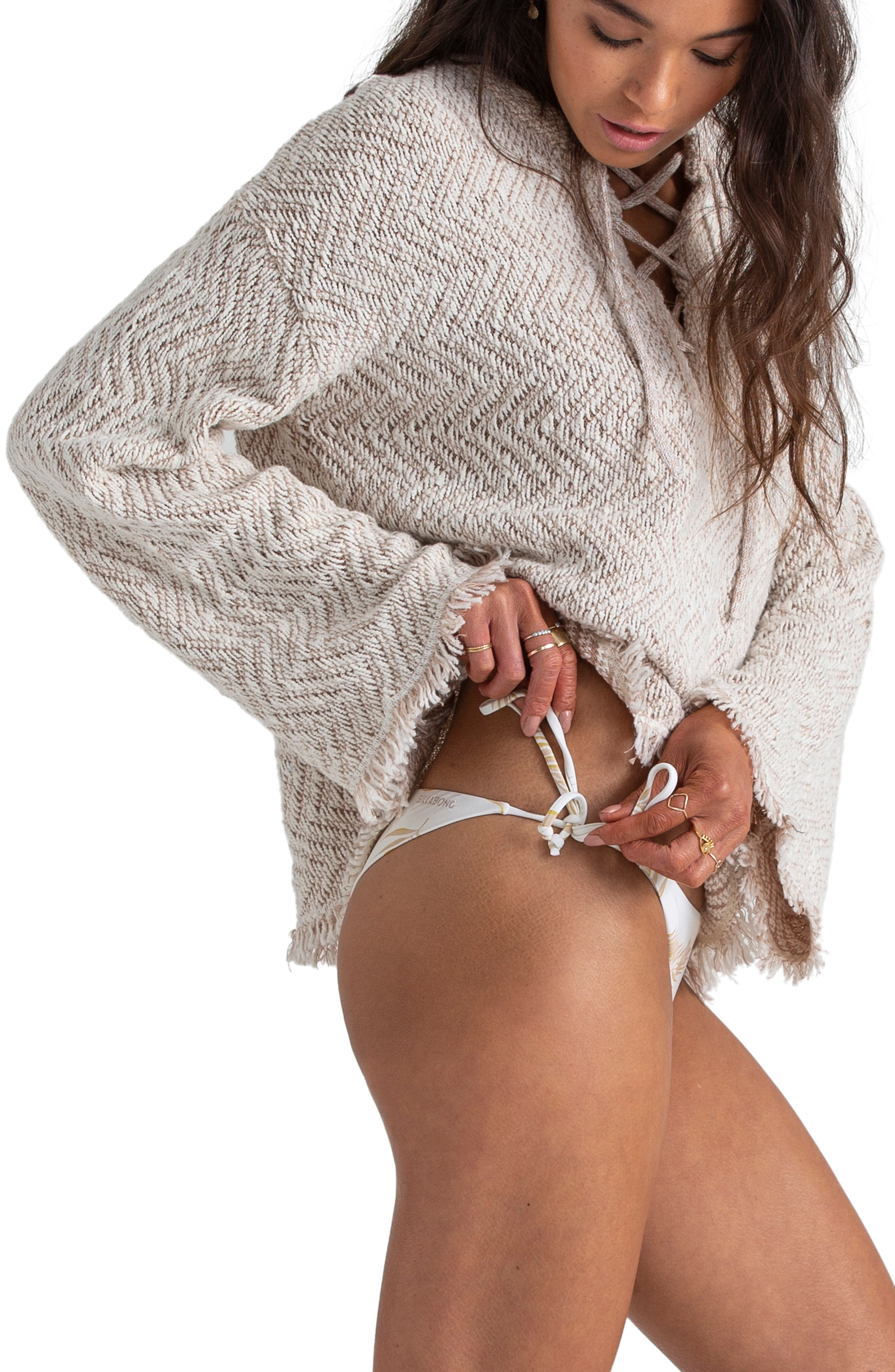 ,                             x Sincerely Jules Palm for Days Sweater,                             Alternate thumbnail 4, color,                             WHITE CAP