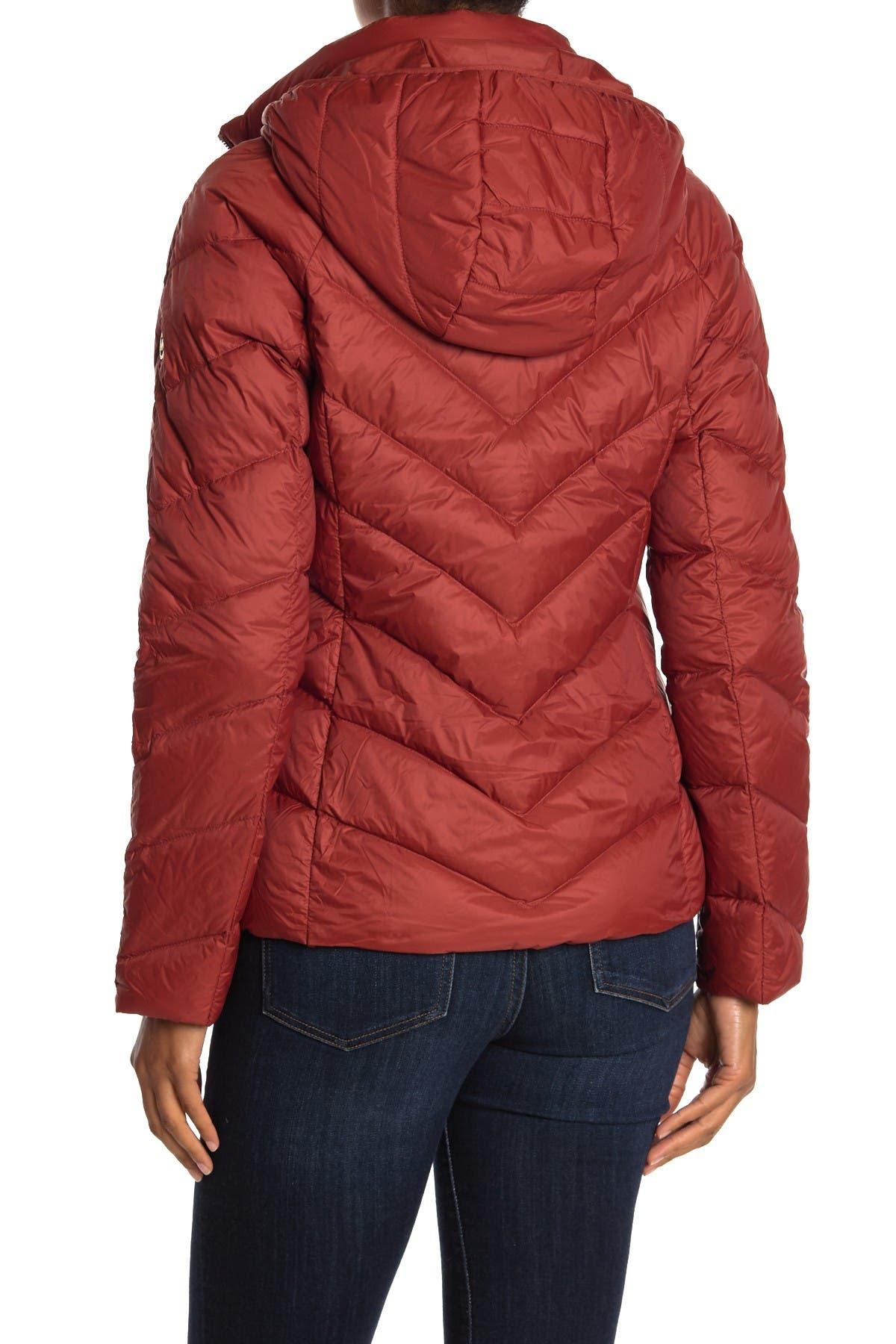 Image of Michael Kors Short Packable Puffer Jacket