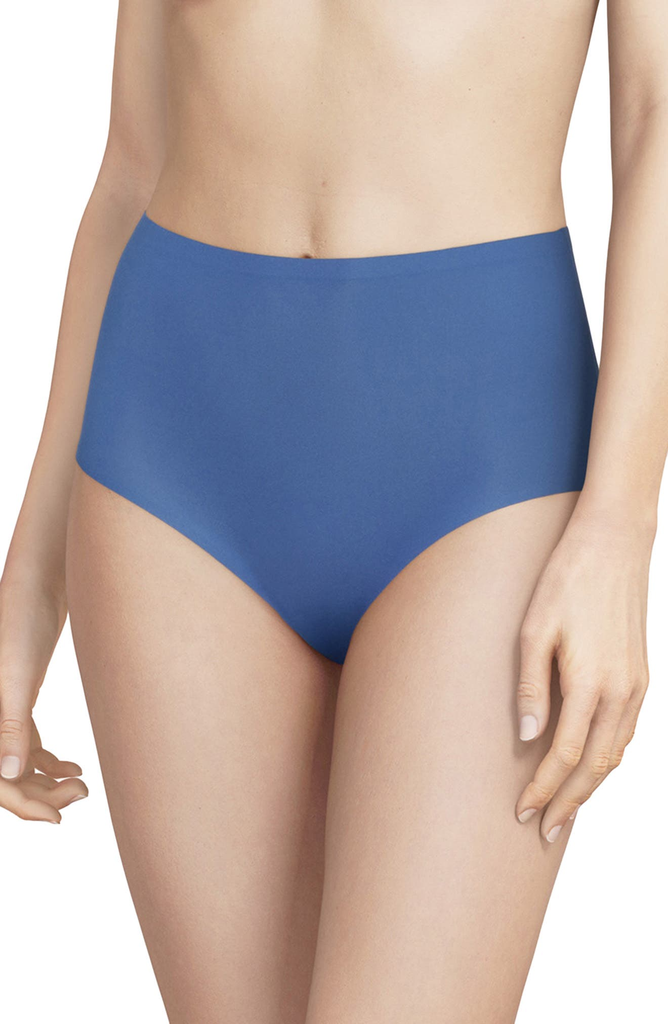 Get a line-free look without sacrificing comfort in these high-waist briefs made from soft, comfy fabric with bonded edges that disappear beneath clothing. Style Name: Chantelle Lingerie Soft Stretch High Waist Briefs (Buy More & Save). Style Number: 5211594. Available in stores.