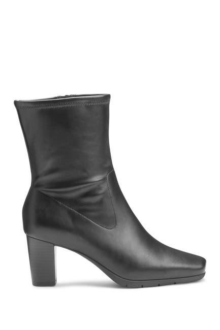 Image of Aerosoles Cinnamon Block Heel Mid Boot
