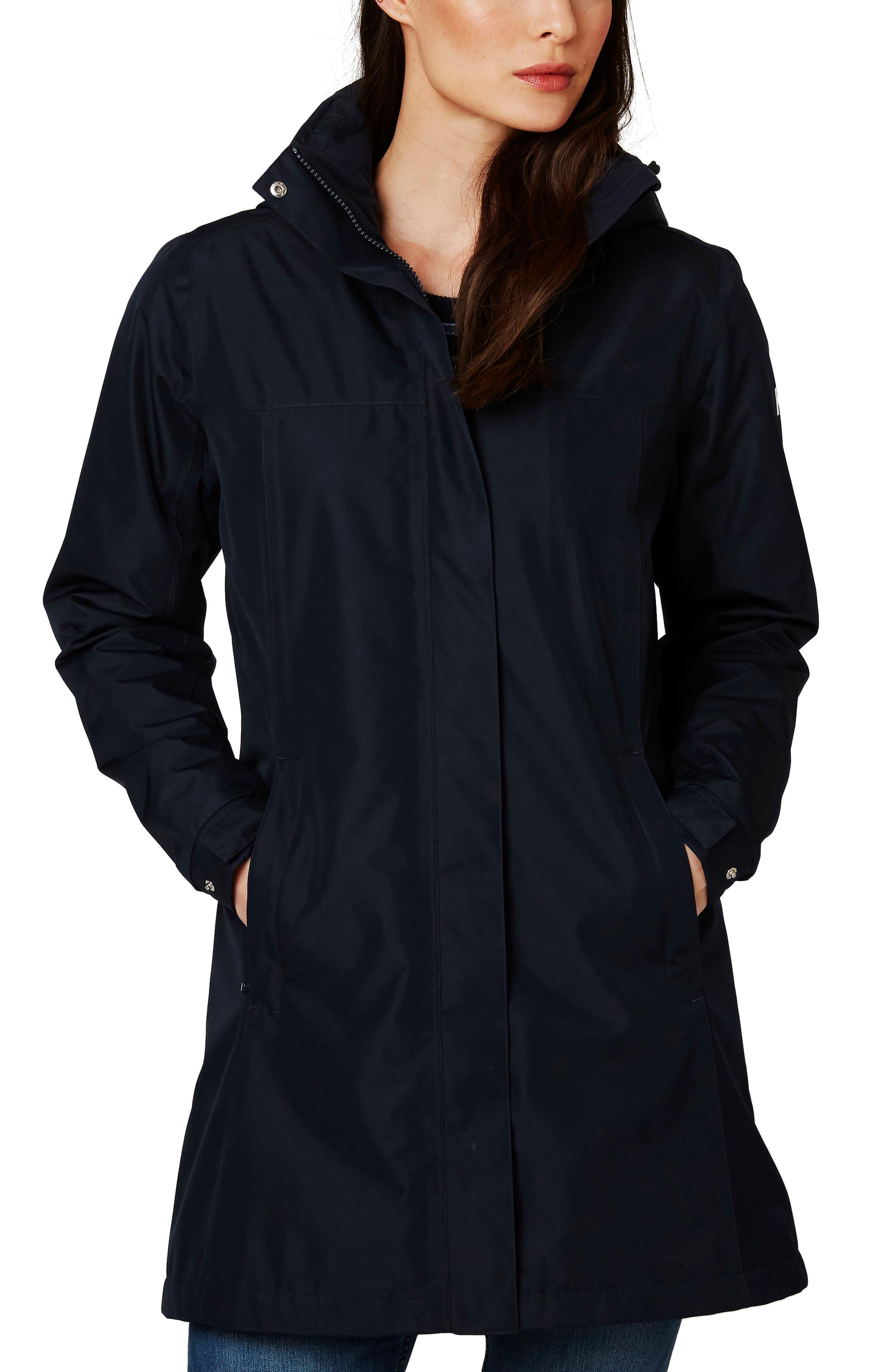 Aden Hooded Insulated Rain Jacket