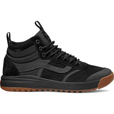 Vans Ultrarange Hi Dl Mte Sneaker- Black