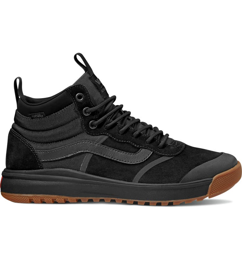VANS UltraRange Hi DL MTE Sneaker, Main, color, BLACK/ BLACK
