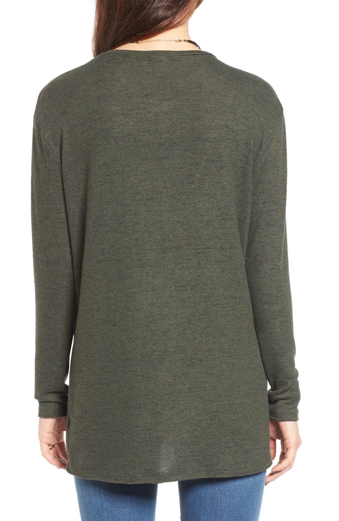 ,                             Cozy V-Neck Sweater,                             Alternate thumbnail 58, color,                             311