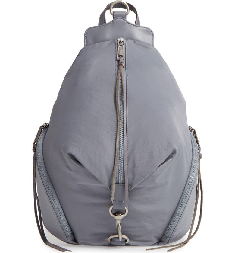 REBECCA MINKOFF Julian Nylon Backpack, Main, color, 020