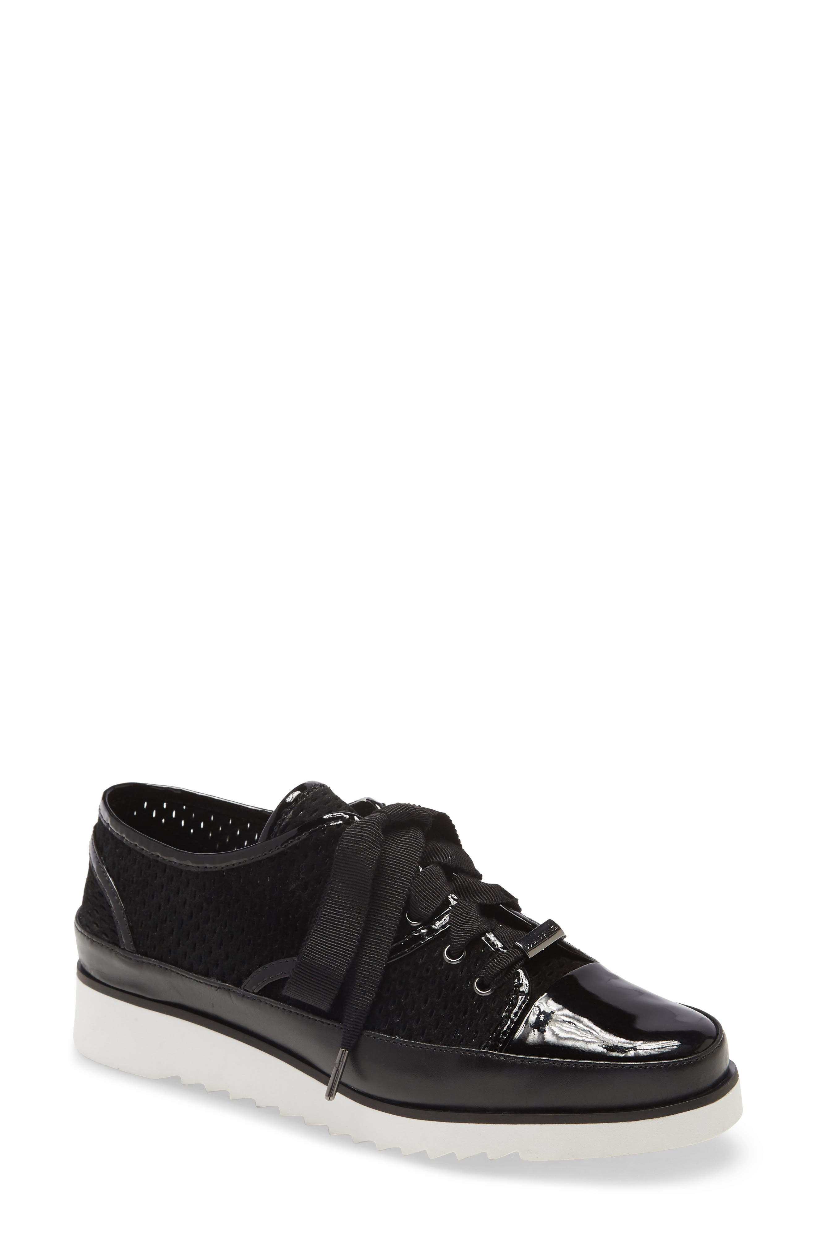 Image of Donald Pliner Flipp Perforated Leather Sneaker