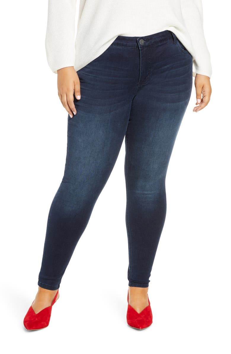 KUT FROM THE KLOTH Mia Toothpick Skinny Jeans, Main, color, PARAGON