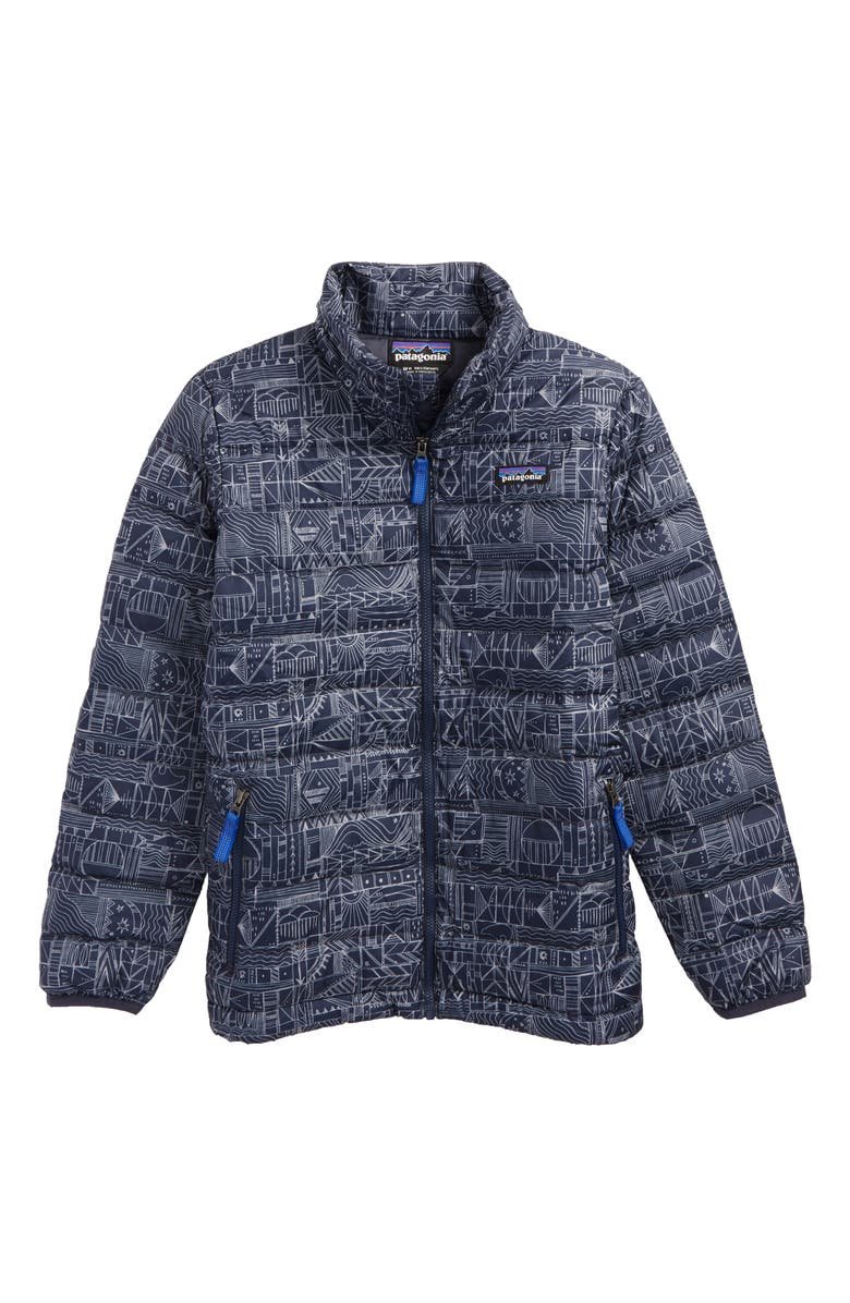PATAGONIA Recycled 600 Fill Power Down Jacket, Main, color, 400