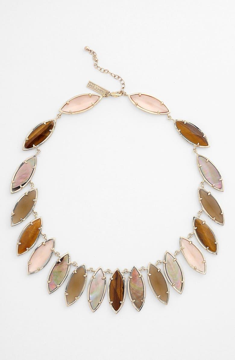 KENDRA SCOTT 'Island Escapade - Nalin' Collar Necklace, Main, color, BALI/ GOLD
