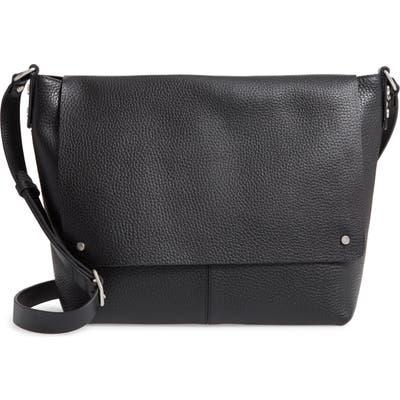 Treasure & Bond Nevyn Leather Messenger Bag - Black