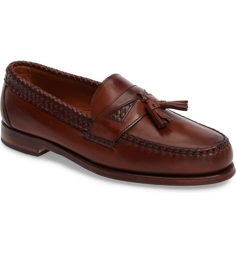 ALLEN EDMONDS 'Maxfield' Loafer, Main, color, CHILI