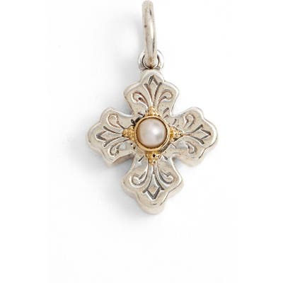 Konstantino Cultured Pearl Charm