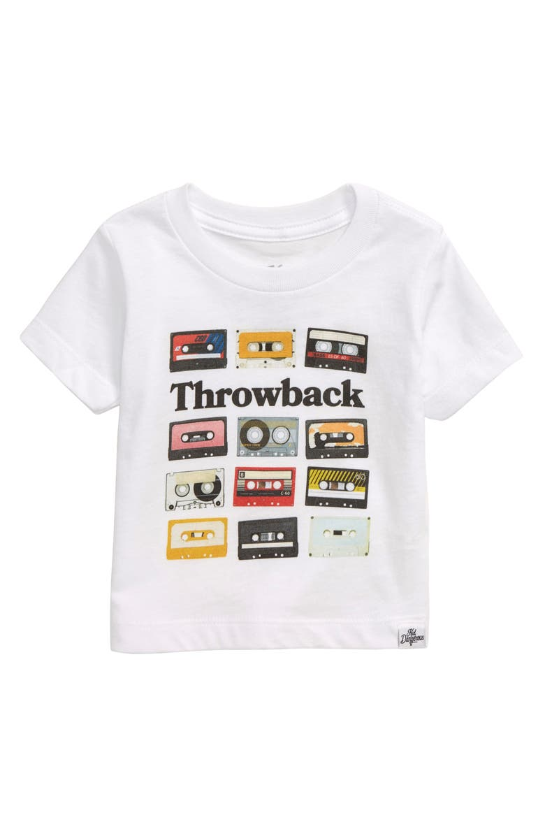 KID DANGEROUS Throwback Graphic T-Shirt, Main, color, 100