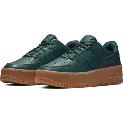 Nike Air Force 1 Sage Low Lx Sneaker- Green