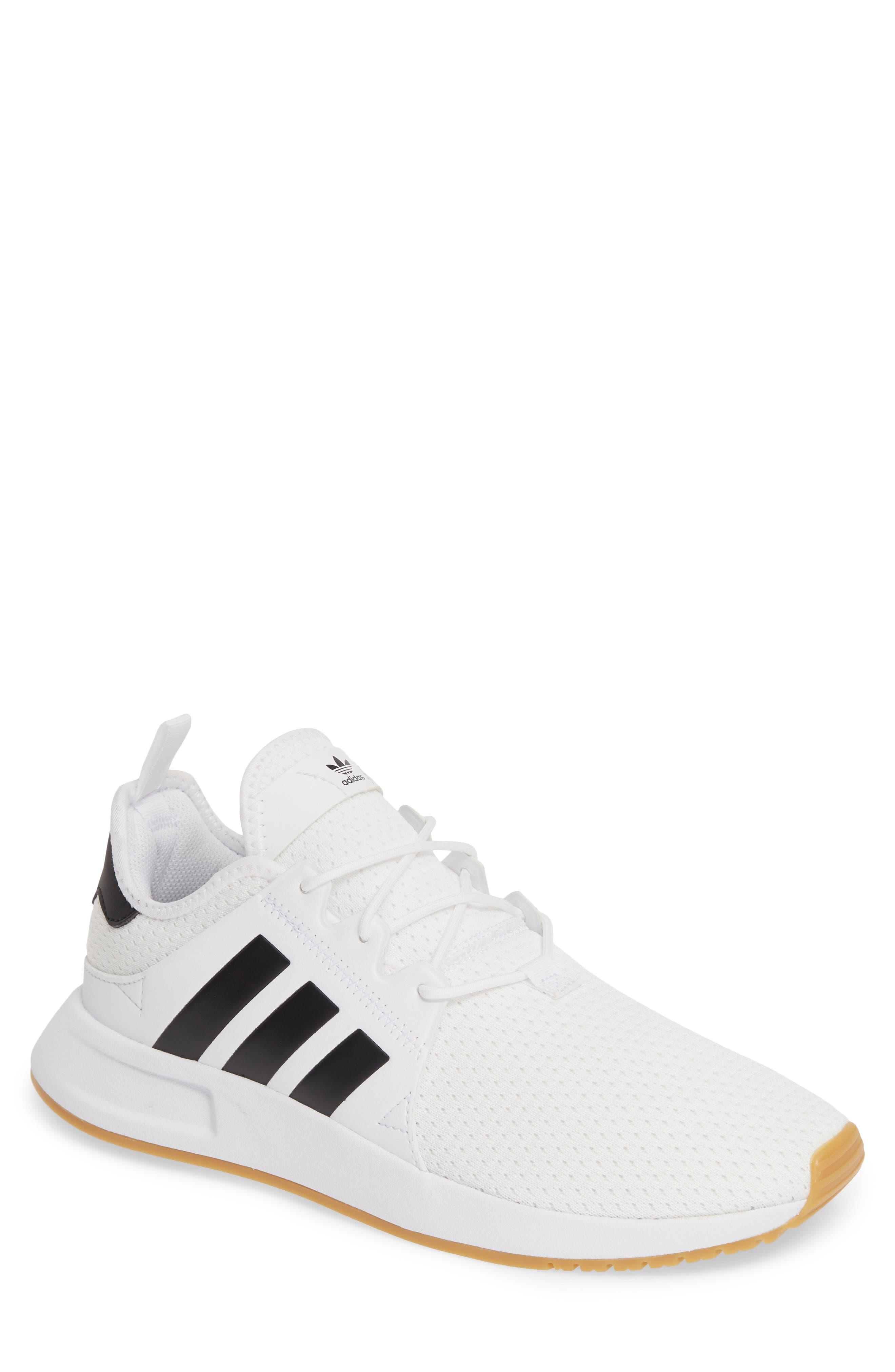 ,                             X_PLR Sneaker,                             Main thumbnail 1, color,                             WHITE/ CORE BLACK/ GUM