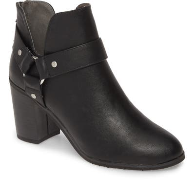 Bc Footwear Miss Independent Vegan Bootie- Black