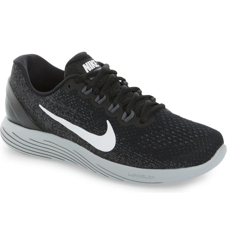 NIKE LunarGlide 9 Running Shoe, Main, color, 001