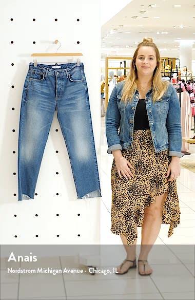 Helena Step Hem Straight Jeans, sales video thumbnail
