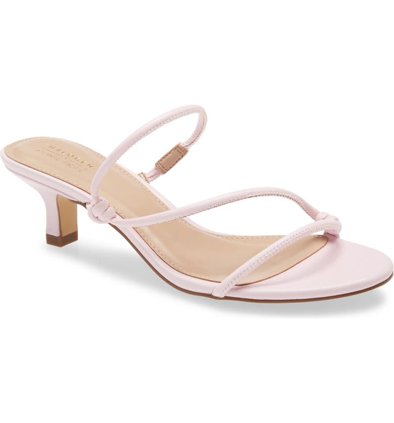 HALOGEN<SUP>®</SUP> x Atlantic-Pacific Paloma Slide Sandal, Main, color, PINK LEATHER