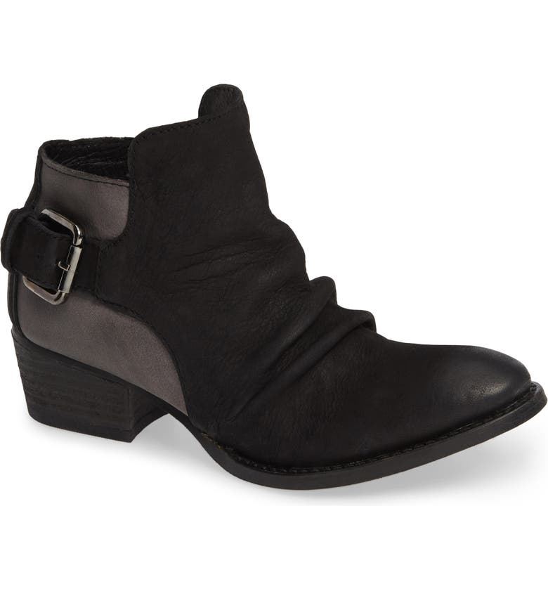 VERY VOLATILE Barclay Bootie, Main, color, BLACK LEATHER