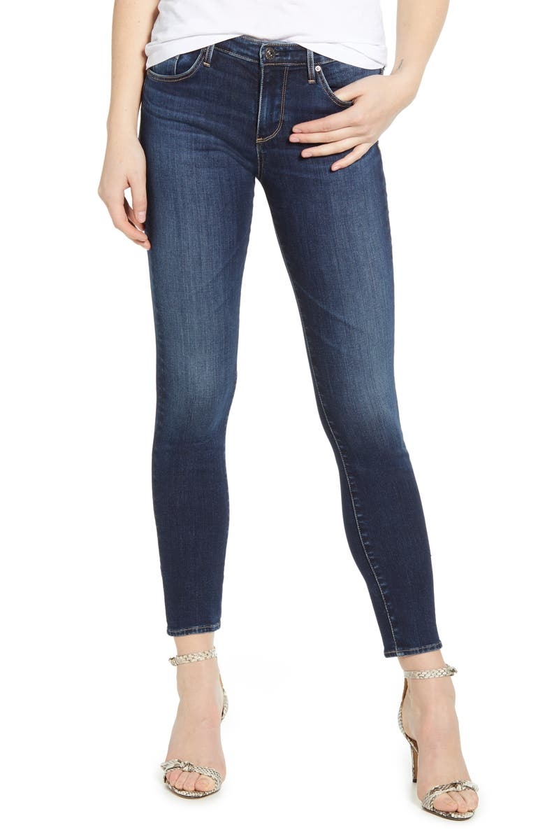 AG The Prima Ankle Cigarette Jeans, Main, color, SUBMERGED