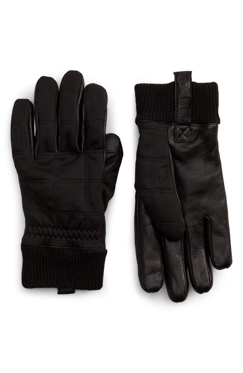 UGG<SUP>®</SUP> All Weather Tech Gloves, Main, color, 001