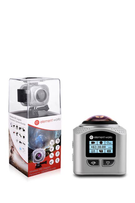 Image of Tech Elements Silver 360 V3 Chipset Camera