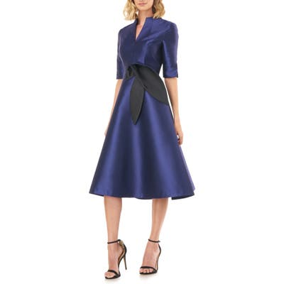 Kay Unger Vanessa Dress, Blue