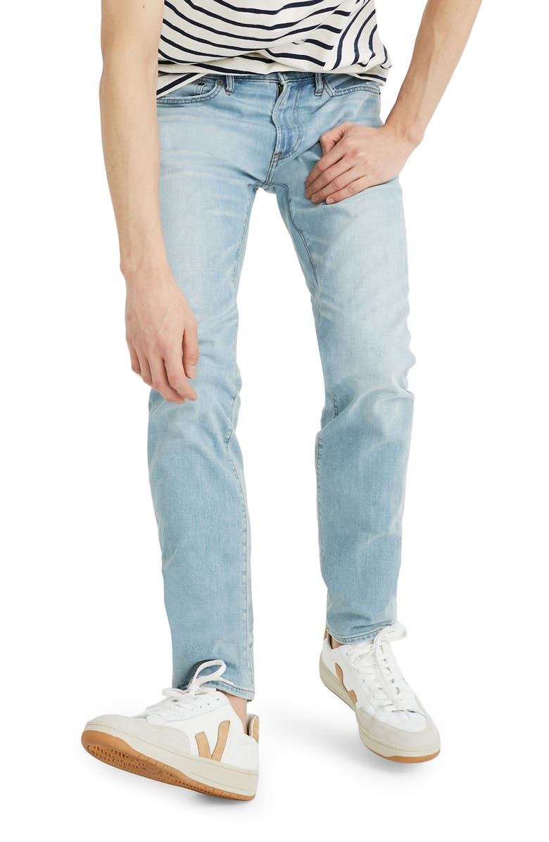MADEWELL Slim Fit Jeans, Main, color, TENSLEY