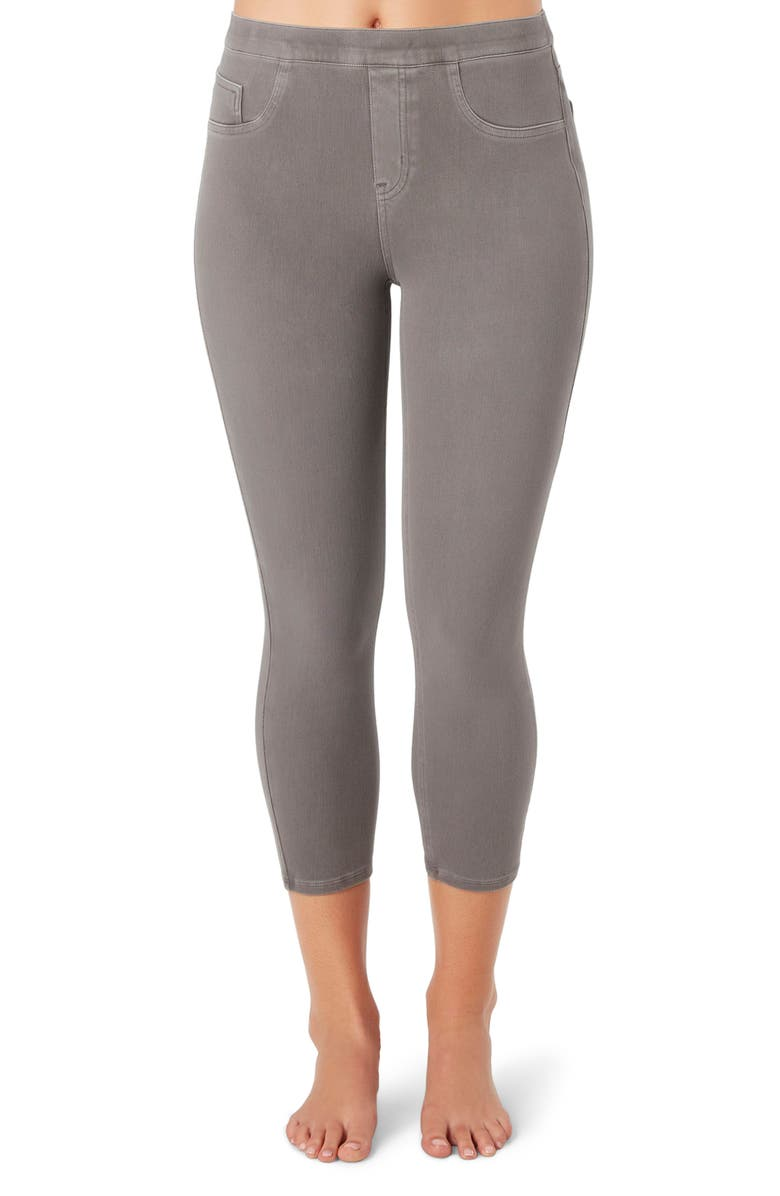 SPANX<SUP>®</SUP> Crop Jean-ish Leggings, Main, color, 098