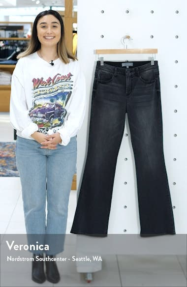 Ab-Solution Itty Bitty High Waist Bootcut Jeans, sales video thumbnail