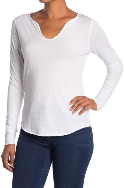 Image of Zadig & Voltaire Glitter Skull Back Print Long Sleeve T-Shirt